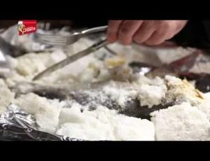 Ricetta del Branzino Crosta di Sale